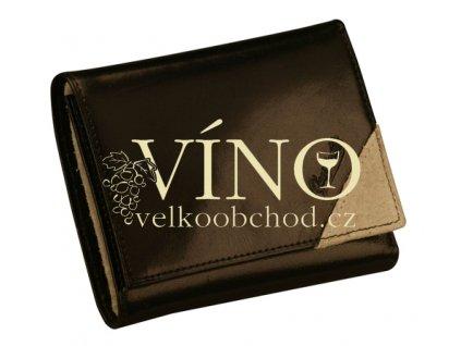 BELLO Guriatti - peněženka kožená, unisex, černá