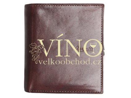 AGGRESIVO Guriatti - dámská kožená peněženka, hnědá