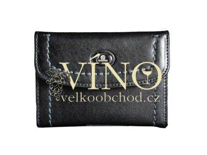 LARA kožená dámská peněženka Uniko, černá