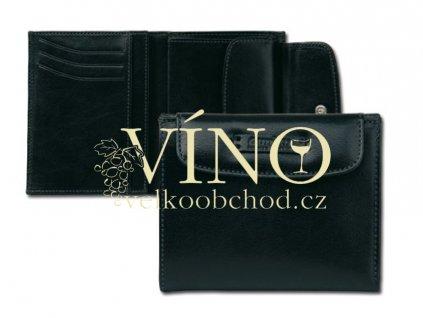 LIAM kožená peněženka Uniko, černá
