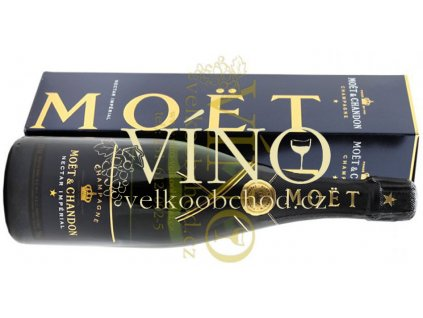 Akce-ihned-Champagne Moët & Chandon Nectar Impérial Demi-Sec 0,75 l in giftbox