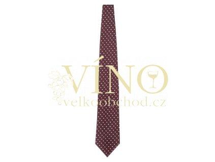André Philippe kravata hedvábná, barva 12