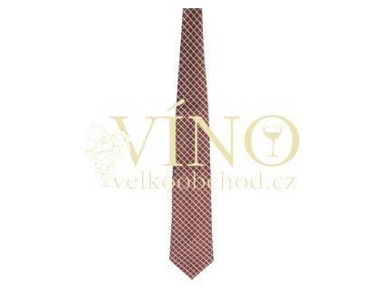 André Philippe kravata hedvábná, barva 21