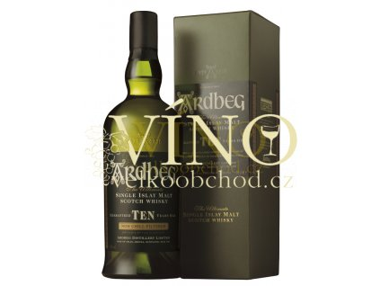 Ardbeg 10 Years Old 0,7 l 46%, single malt whisky