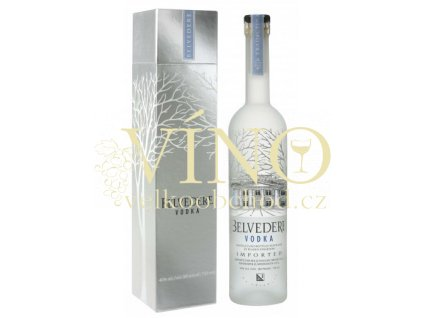 Belvedere Pure 0,7 L 40% vodka + giftbox
