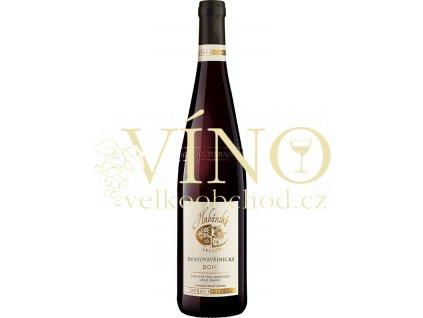 Habánské sklepy Svatovavřinecké jakostní 0,75 L suché červené víno