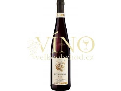 Habánské sklepy Zweigeltrebe jakostní 0,75 l suché červené víno