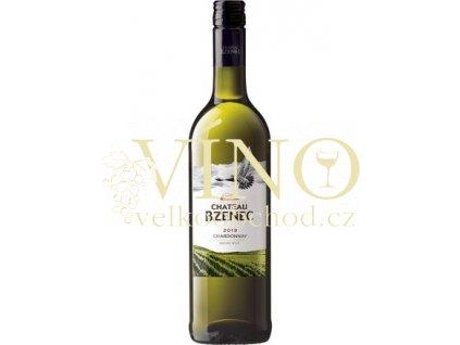 Chateau Bzenec Chardonnay jakostní 0,75 L suché bílé víno