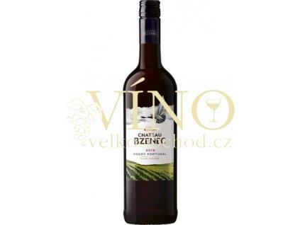 Chateau Bzenec Modrý Portugal jakostní 0,75 L suché červené víno