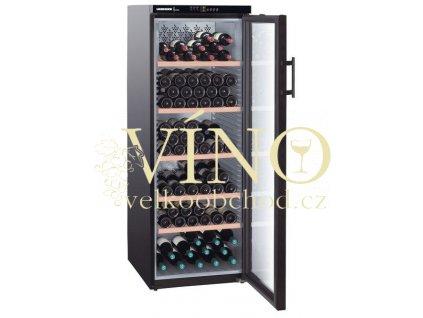 Temperovaná vinotéka na víno Liebherr WTB 4212 6x víno jako dárek