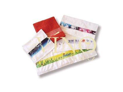 PRINT froté pro sublimační tisk malý ručník 400 g/m2 - bílá