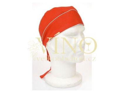 SUN šátek na hlavu, červený