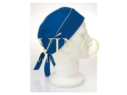 SUN šátek na hlavu, modrý