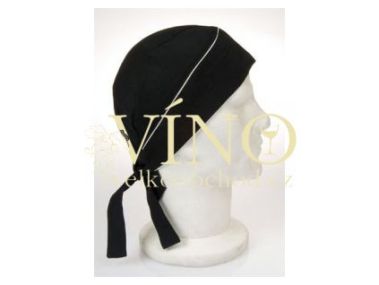 SUN šátek na hlavu, černý