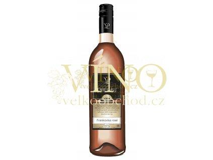 Víno - Vinařství Přítluky, Frankovka rosé
