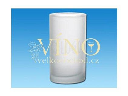 KYLE sklenice, transparentní bílá