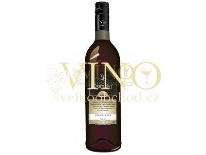 Víno - Vinařství Přítluky, Rulandské modré