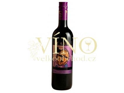 Víno Bodegas Aňadas Care Joven Cuveé 0,75 l suché španělské červené víno z Cariňena