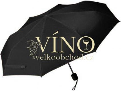 Milano deštník LGF-205, černá