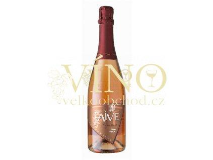 Nino Franco Faivé Spumante Rosé 2018 Brut 0,75 l italské růžové šumivé víno z Valdobbiadene Veneto