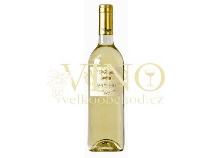 Víno Ca Rugate San Michele Soave Classico DOC 2018 0,75 l italské bílé víno z oblasti Veneto