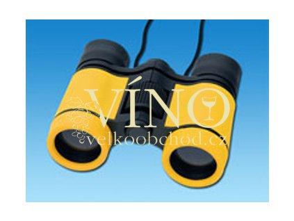 ELVIS dalekohled v pouzdře, žlutá