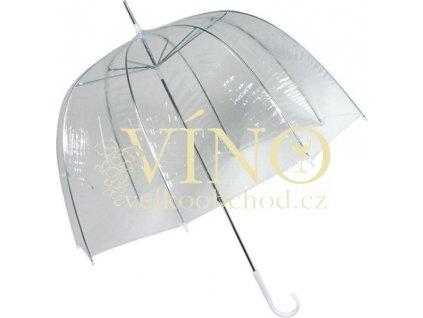 Oldschool deštník RD-1, transparentní