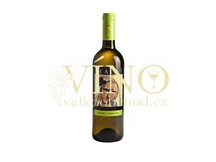 Bodegas Aňadas Care Macabeo Chardonnay 0,75 L suché španělské bílé víno z Cariňena