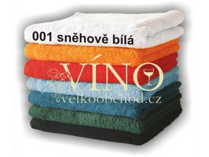 DIAMANT malý ručník 530g/m2 - sněhově bílá