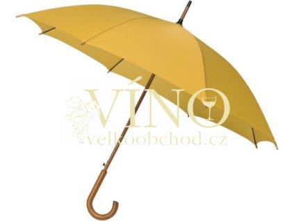 Automatic deštník LA-15, tmavě žlutá