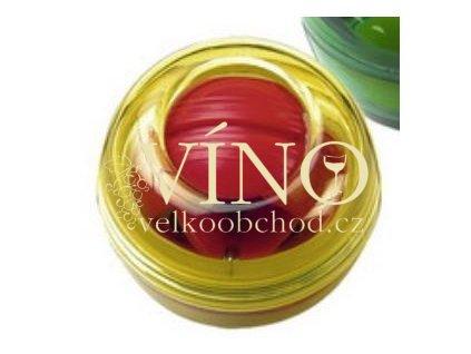 Turboball, ruční gyroskop, transparentní žlutá