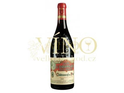 Víno - Clos de L´Oratoire des Papes Chateauneuf-du-Pape