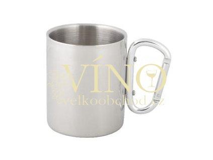 Termohrnek s karabinou - 300 ml