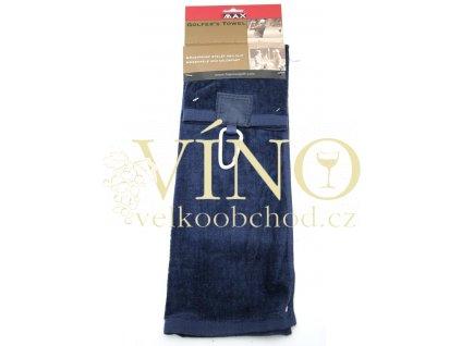 GOLF TOWEL golfový ručník 420 g/m2, tmavě modrá