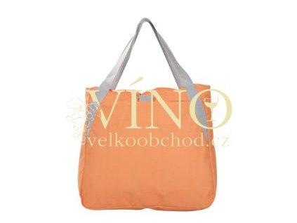 Plážová taška na zip, oranžová