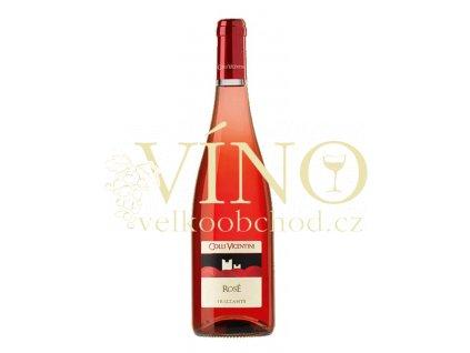 Colli Vicentini Frizzante Rosé demi sec 0,75 l šumivé italské růžové víno z Veneto