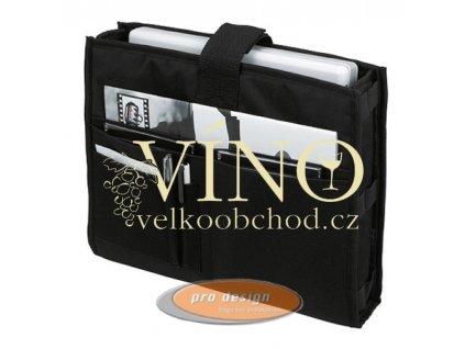 Vnitřní kapsa pro tašky přes ramena, černá