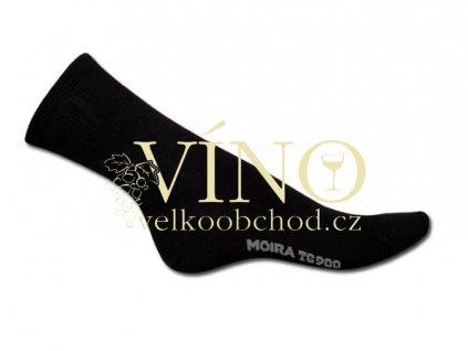 DALLIN ponožky, vel. 10-11, cerna
