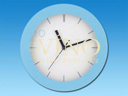 DEMPSTER nástěnné hodiny, modrá