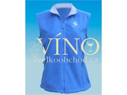 MEDIA 2000 dámská vesta FLEECE 290 g/m2 vel. L, sky blue