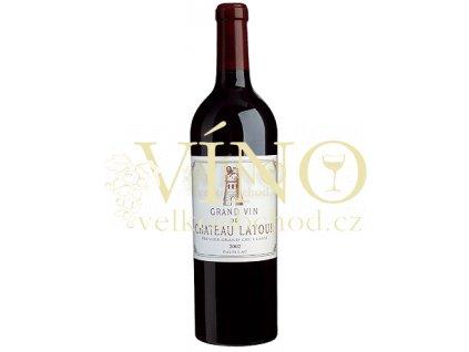Víno - Château Latour, 1er Cru Classé, Pauillac, r. 1999