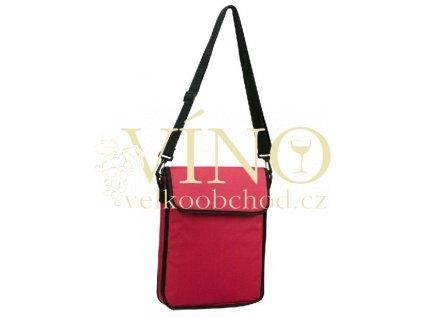 SYSTEM taška na notebook, červená