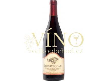 Akce ihned Domaine Borgnat Pinot Noir AOC 0,75 L suché francouzské červené víno z Bourgogne