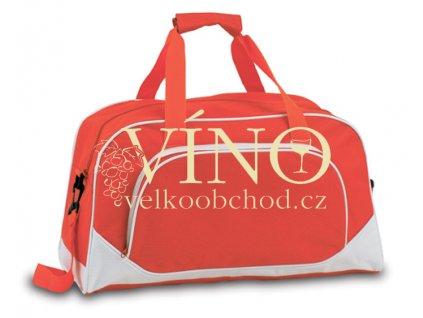 NOVO sportovní taška, červená