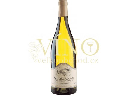 Domaine Borgnat Chardonnay AOC 0,75 L suché francouzské bílé víno z Bourgogne