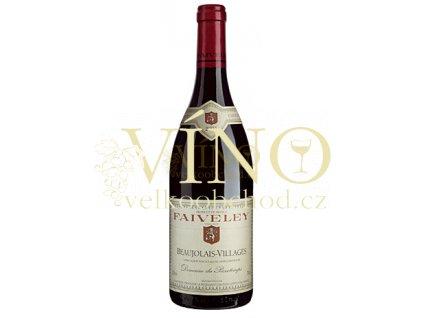 Domaine Faiveley Beaujolais-Villages AOC Domaine du Passetemps francouzské červené víno z Bourgogne