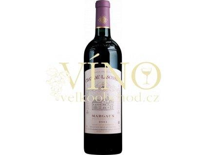 Château Lascombes, 2eme Cru Classé, Margaux r. 2014 0,75 l červené francouzské víno