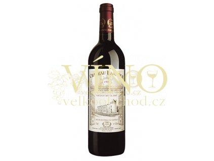 Château Laroque Grand Cru francouzské červené víno z Bordeaux, Saint-Émilion