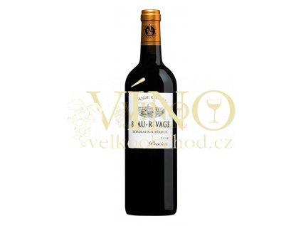 Borie Manoux Beau Rivage Grande Reserve Premium AOC 0,75 l suché francouzské červené víno z oblasti Bordeaux