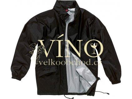 MIAMI větrovka s kapucí a obalem, vel. L, černá